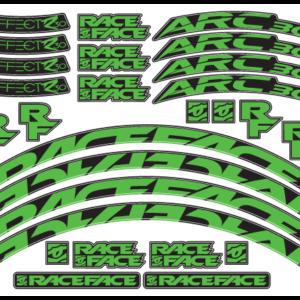 RaceFace Arc 30 Decals