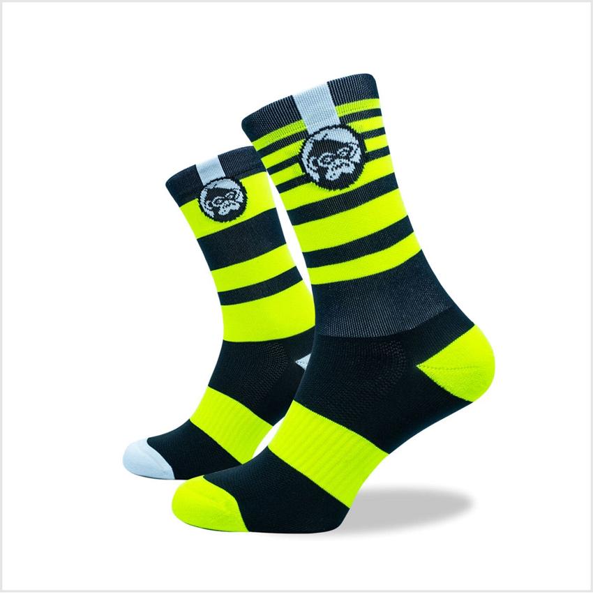 Grumpy Monkey - Bumble Bee Socks