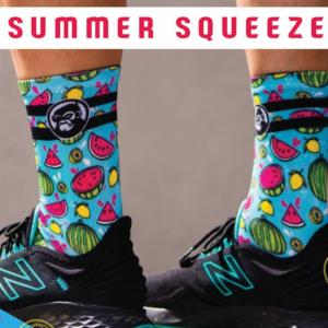 Grumpy Monkey - Summer Squeeze Socks