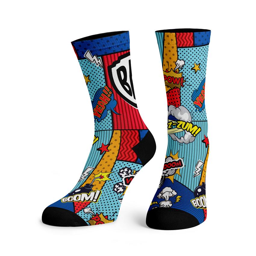SOX Bat Comic Socks